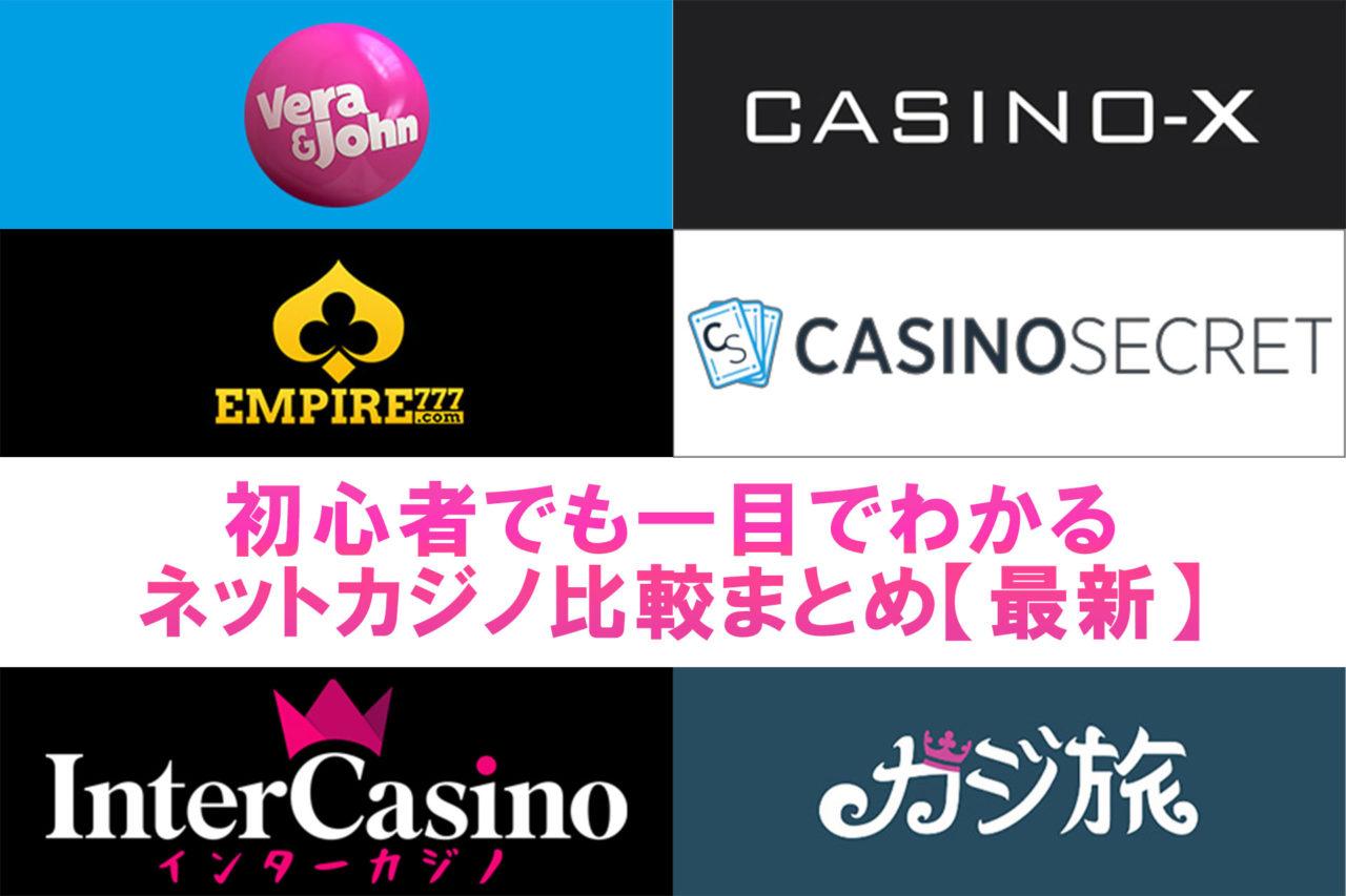 初心者でもわかるオンラインカジノ比較まとめ